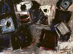 Iberê Camargo, Série carretéis, 1976
