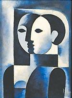 Figuras em azul, de Ismael Nery