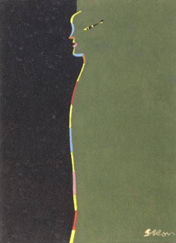 Siron Franco, obra sem titulo, 1987. Coleção Manoel Dilor de Freitas