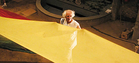 Zé Celso no Teatro Oficina (Foto: divulgação)